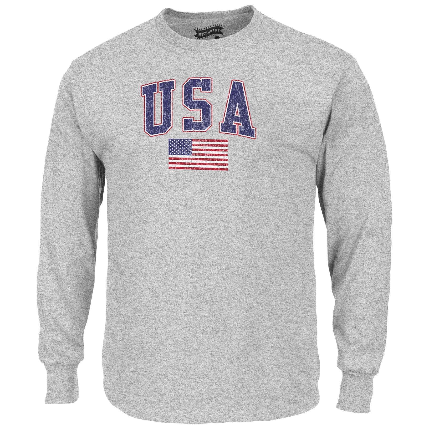 Mycountry Vintage Sport Gray Shirts