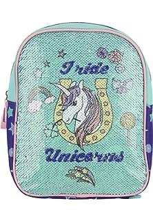 4e488d75447ec fabrizio Kinderrucksack mit Wendepailletten 0523 royalbalu pastellgrün