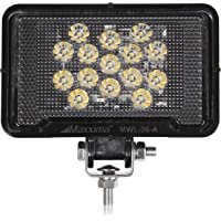 Maxxima MWL-26-A Black Black Rectangular 15 LED Work Light (675 Lumens)