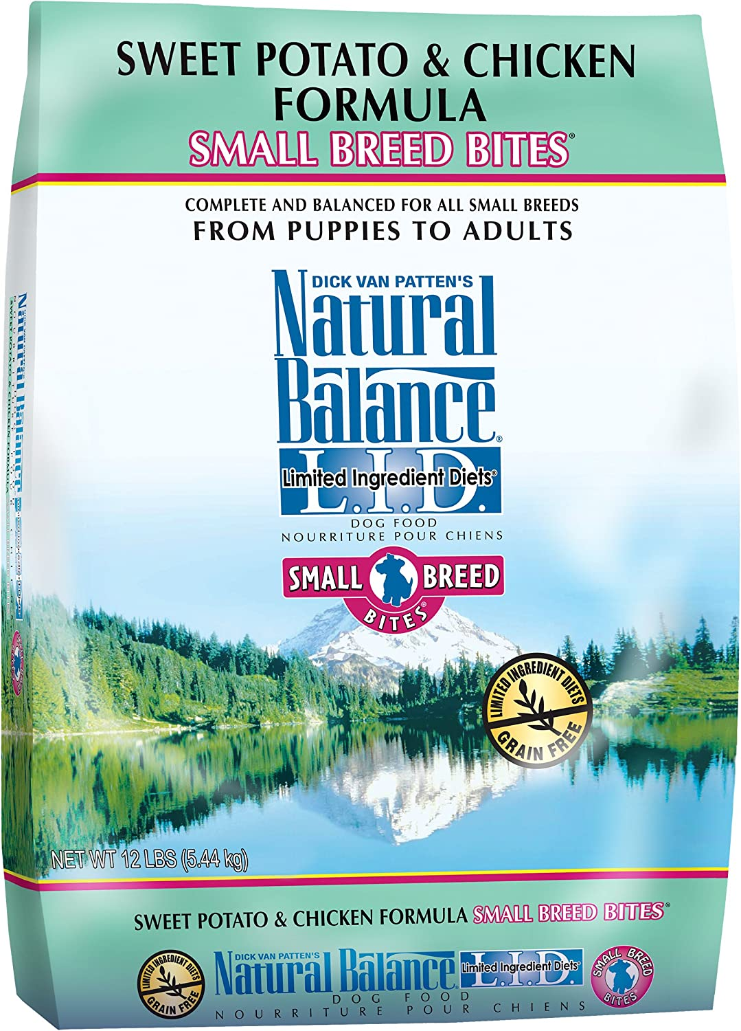3. Natural Balance L.I.D. Small Breed Bites