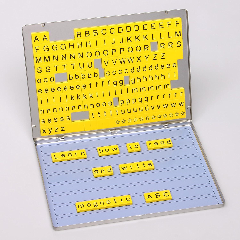 Betzold 42290 - Lese-Magnetbox Sprachförderung 213 Magnet-Buchstaben ...
