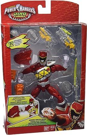 Power Rangers Dino Charge - Figura de acción Raptor Zord, Color Rojo (Bandai 42176): Amazon.es: Juguetes y juegos