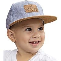 Aslan Original Baby Snapback Hat   Design Fashion Cap   Stylish Infant and Toddler Snapback Flat Brim Hat