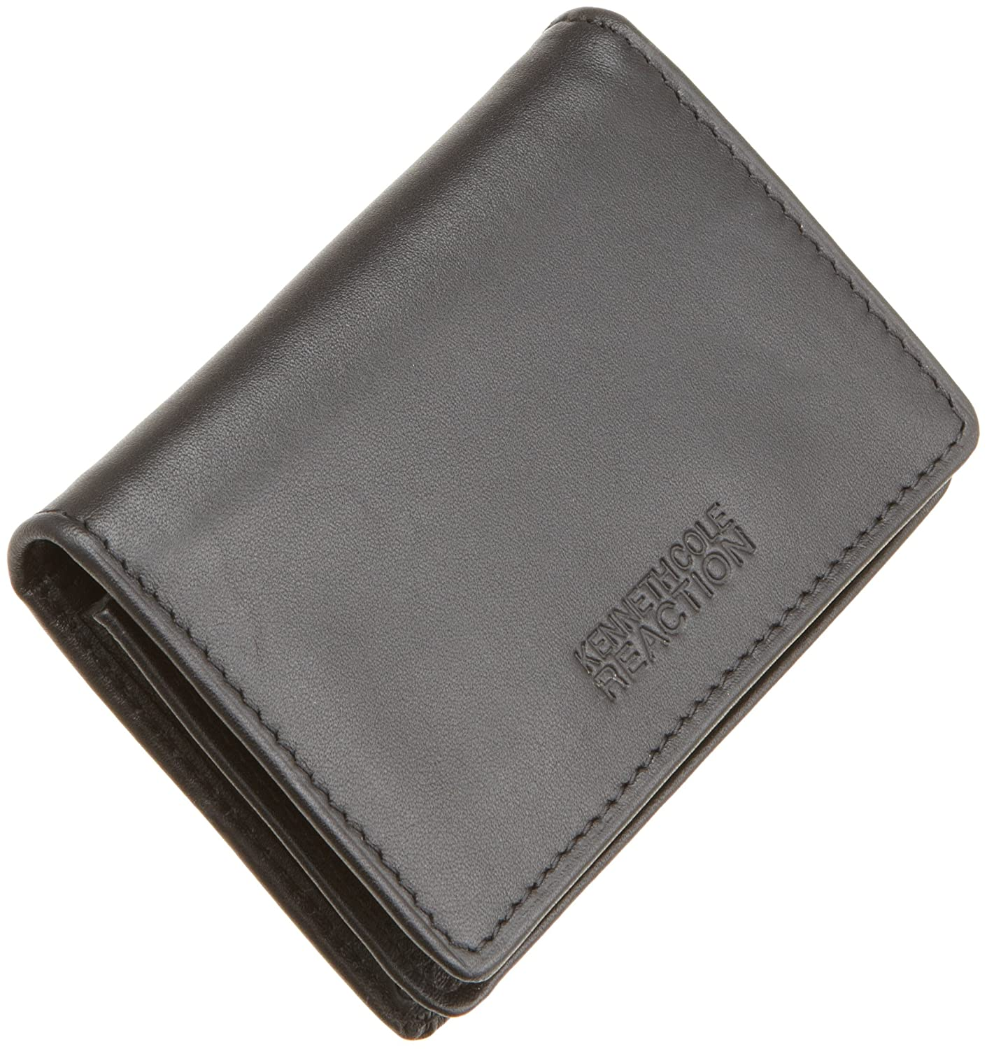 Kenneth Cole REACTION Men\'s Business Card Case, Black, One Size at ...