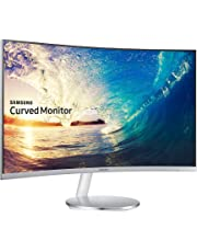 Samsung C27F591 27 inch Curved LED Monitor - HDMI, Displayport, VGA, Speakers