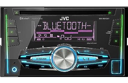 amazon com jvc kw r910bt car audio 2din cd stereo w bluetooth ipod rh amazon com Pink JVC Car Stereo JVC Support