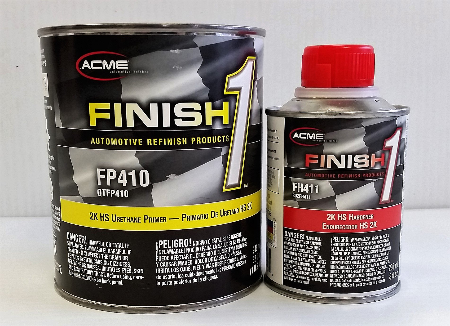 FP 410 Urethane Primer Sherwin Williams Restoration auto car Paint QT KIT FINISH1