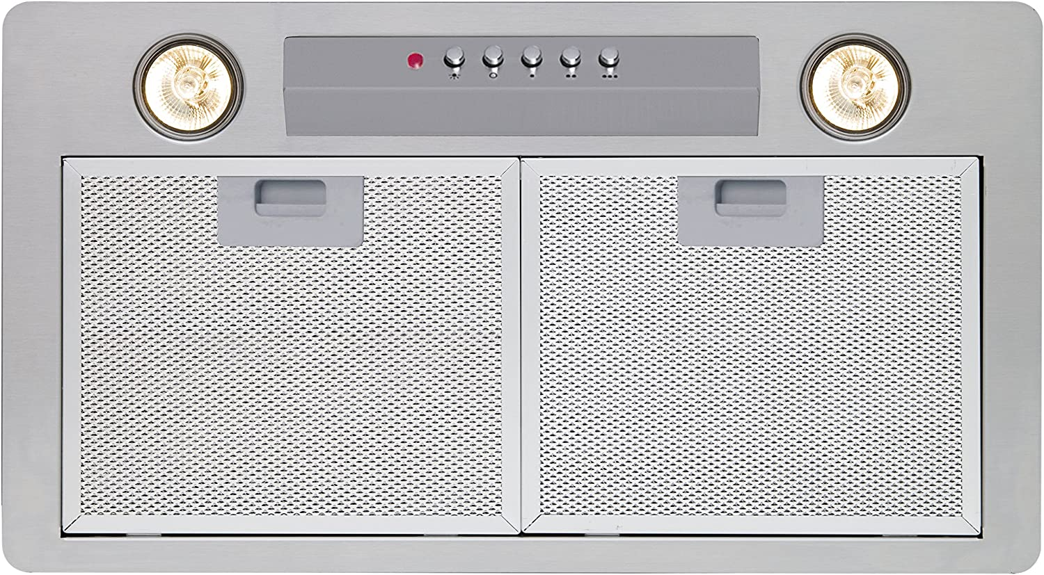 CATA GT Plus Fully built-in cooker hood Acero inoxidable 600 m³/h - Campana (600 m³/h, 50 dB, 65 dB, Fully built-in cooker hood, Acero inoxidable, 2 bulb(s)): Amazon.es: Grandes electrodomésticos