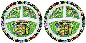 Amazon.com: Platos divididos de las Tortugas Ninja: Baby