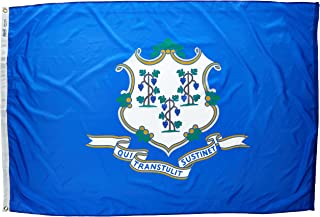 product image for Annin Flagmakers Model 140770 Connecticut State Flag 4x6 ft. Nylon SolarGuard Nyl-Glo 100% Made in USA to Official State Design Specifications.