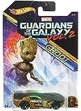 Hot Wheels Marvel Guardians of The Galaxy Vol.2, Groot Solar Reflex, Multi Color