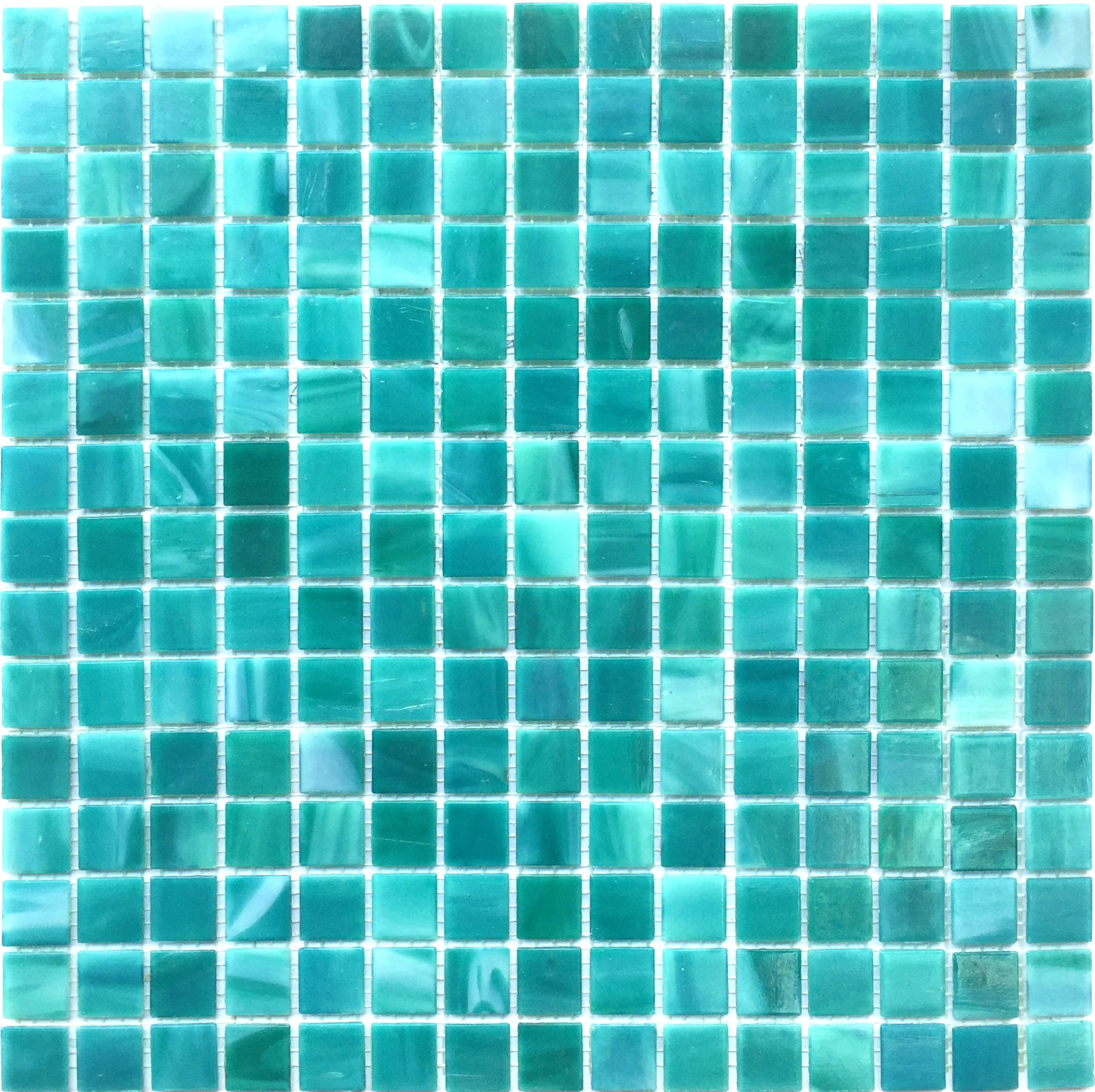 Hometile Mosaic Glass Mosaic Tile/backsplash Tile for Kitchen/Sticker Tile/Bathroom Tile/Kitchen Tiles for Wall,Mosaic Tiles (10sheet, Blue)
