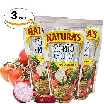 Sofrito Criollo - Naturas Salsita Lista De Tomate Con Chile, Cebolla y Cumino | Unique