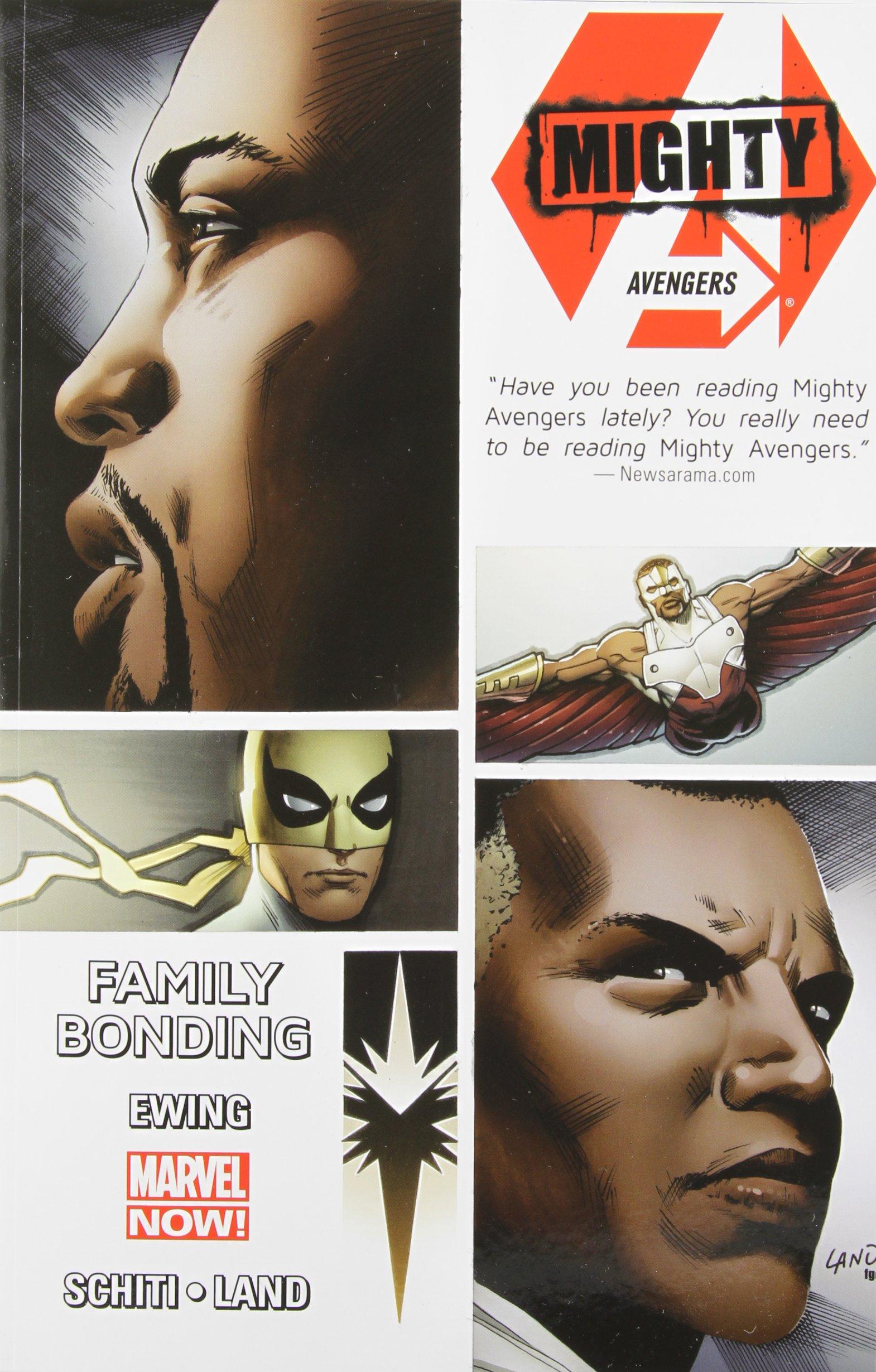 Amazon: Mighty Avengers Volume 2: Family Bonding (marvel Now)  (9780785188759): Al Ewing, Greg Land, Valerio Schiti: Books