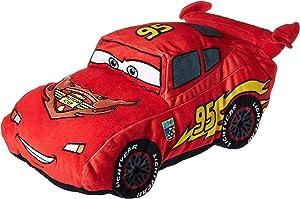 Disney Pixar Cars Plush Stuffed Lightning Mcqueen Red Pillow Buddy - Kids Super Soft Polyester Microfiber, 19 inch (Official Disney Pixar Product)