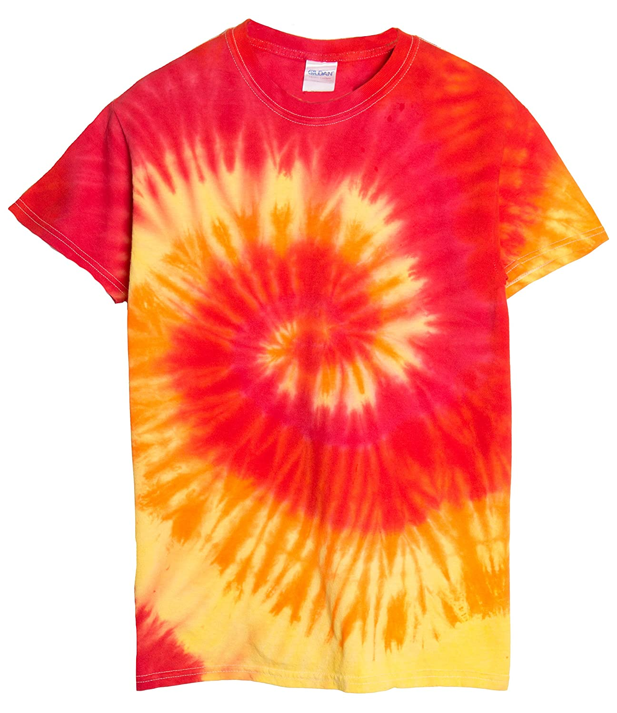 9435ab7a Amazon.com: Ragstock Tie Dye T-Shirt: Clothing