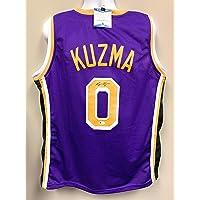 $99 » Kyle Kuzma Los Angeles Lakers Signed Autograph Custom Jersey Purple G# Beckett Witnessed Certified