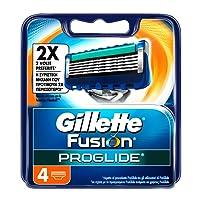 Gillette Fusion ProGlide Lamette di Ricambio, 4 Lamette