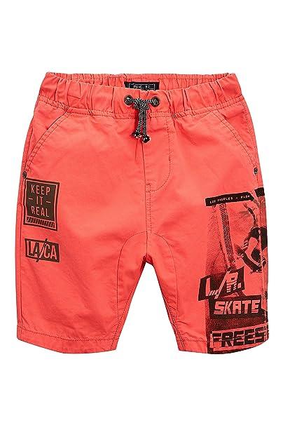 next Niños Pantalones Cortos De Tiro Caído para Skaters (3-16 Años) Naranja  16 años  Amazon.es  Ropa y accesorios 189dcc2ed42