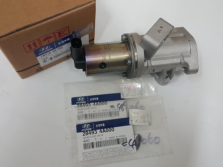 EGR Valve with gaskets 284104A100 28410 4A100 for Hyundai H1 Starex Kia Sorento