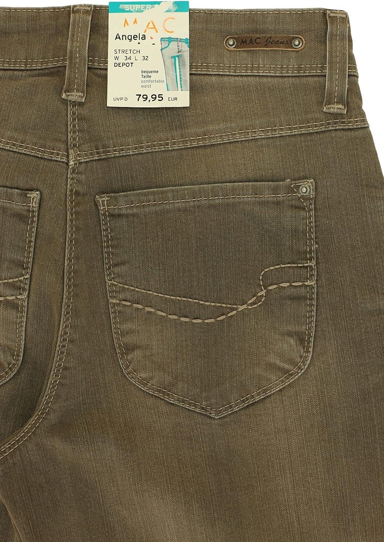 MAC Jeans Angela 0307L 5240 Damen Hose Super Slim Pants Stretch Denim