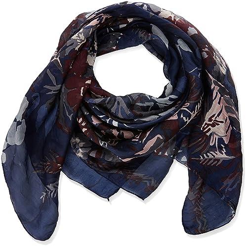 Trucco - Fulár para mujer, color azul oscuro, talla U