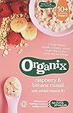 Organix Raspberry and Banana Muesli 200 g (Pack of 4)