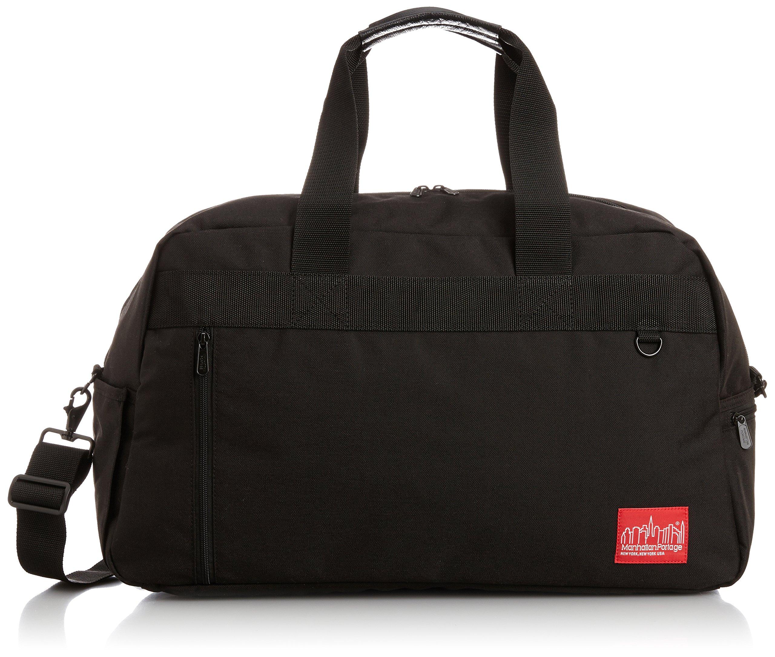 Manhattan Portage Duffel Bag Featuring CORDURA Brand Fabric, Black