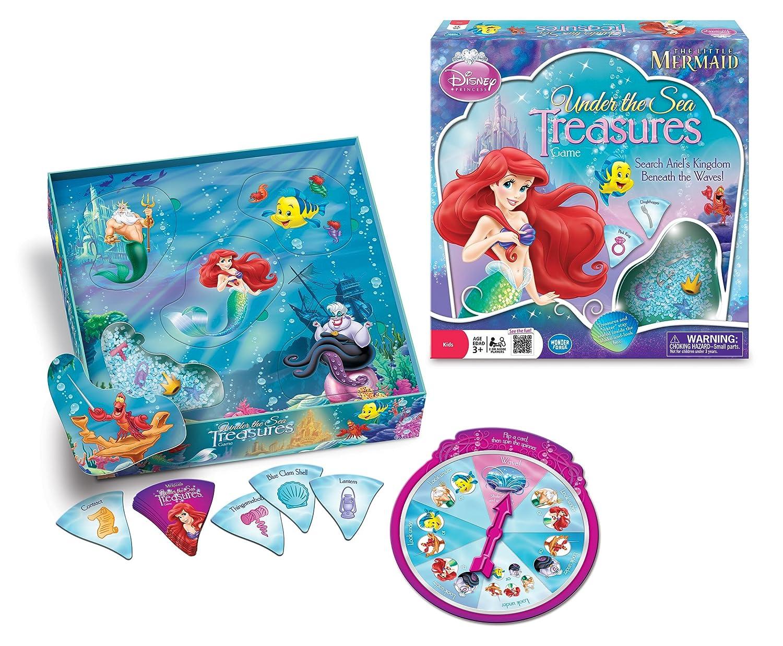 Amazon The Little Mermaid Under Sea Treasures Game Toys Games