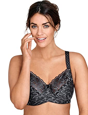 bfd859926fc Miss Mary Of Sweden Flames Underwired Bra at Amazon Women s Clothing ...