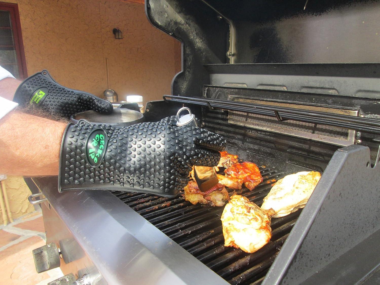 amazon com vrp heat resistant silicone bbq gloves best