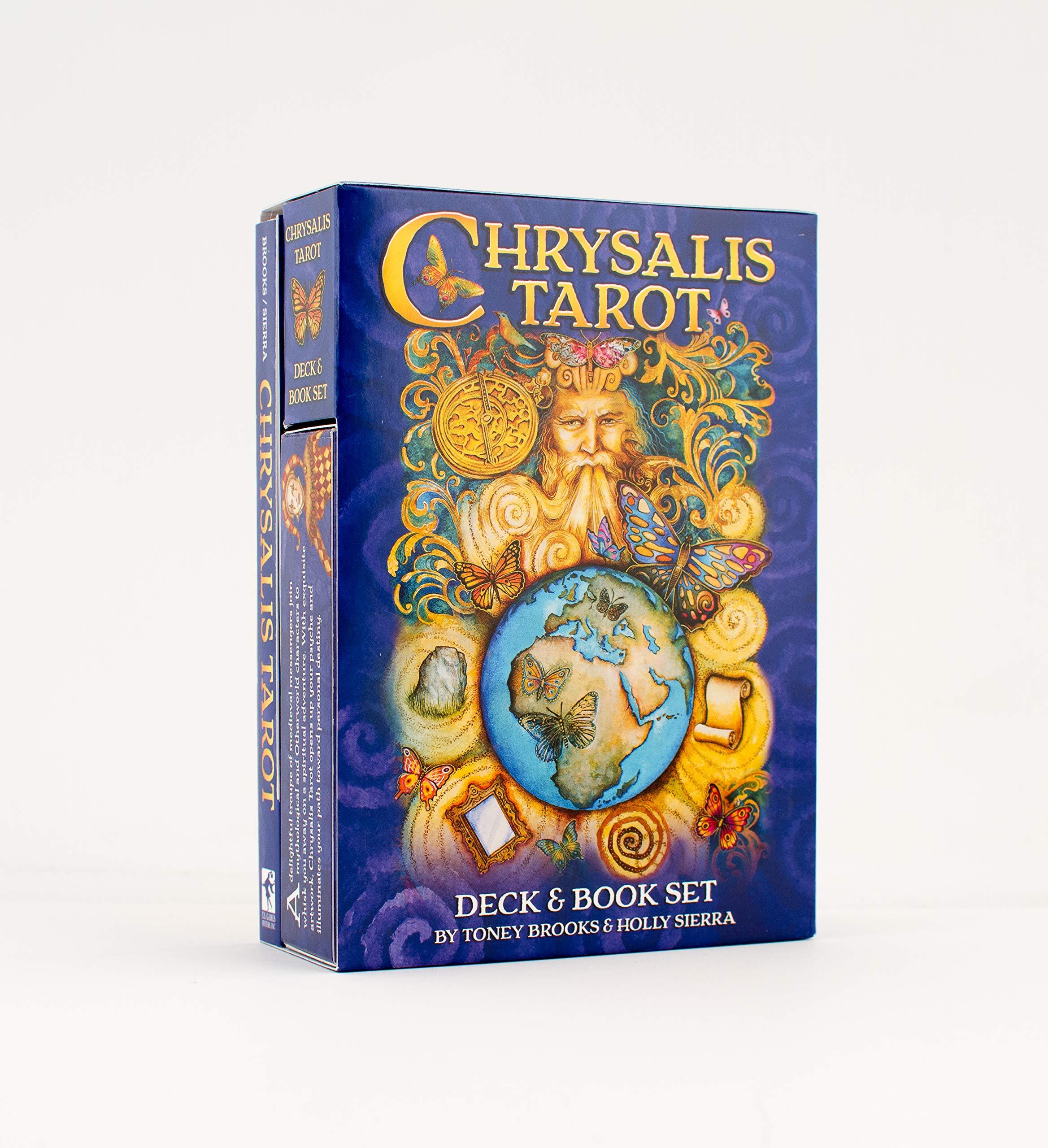 Chrysalis Tarot Deck and Book Set: Holly Sierra, Child Sierra: 9781572818439: Amazon.com: Books
