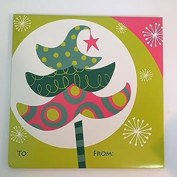 Amazon Com Christmas Tree Gift Card Holder Health Personal Care