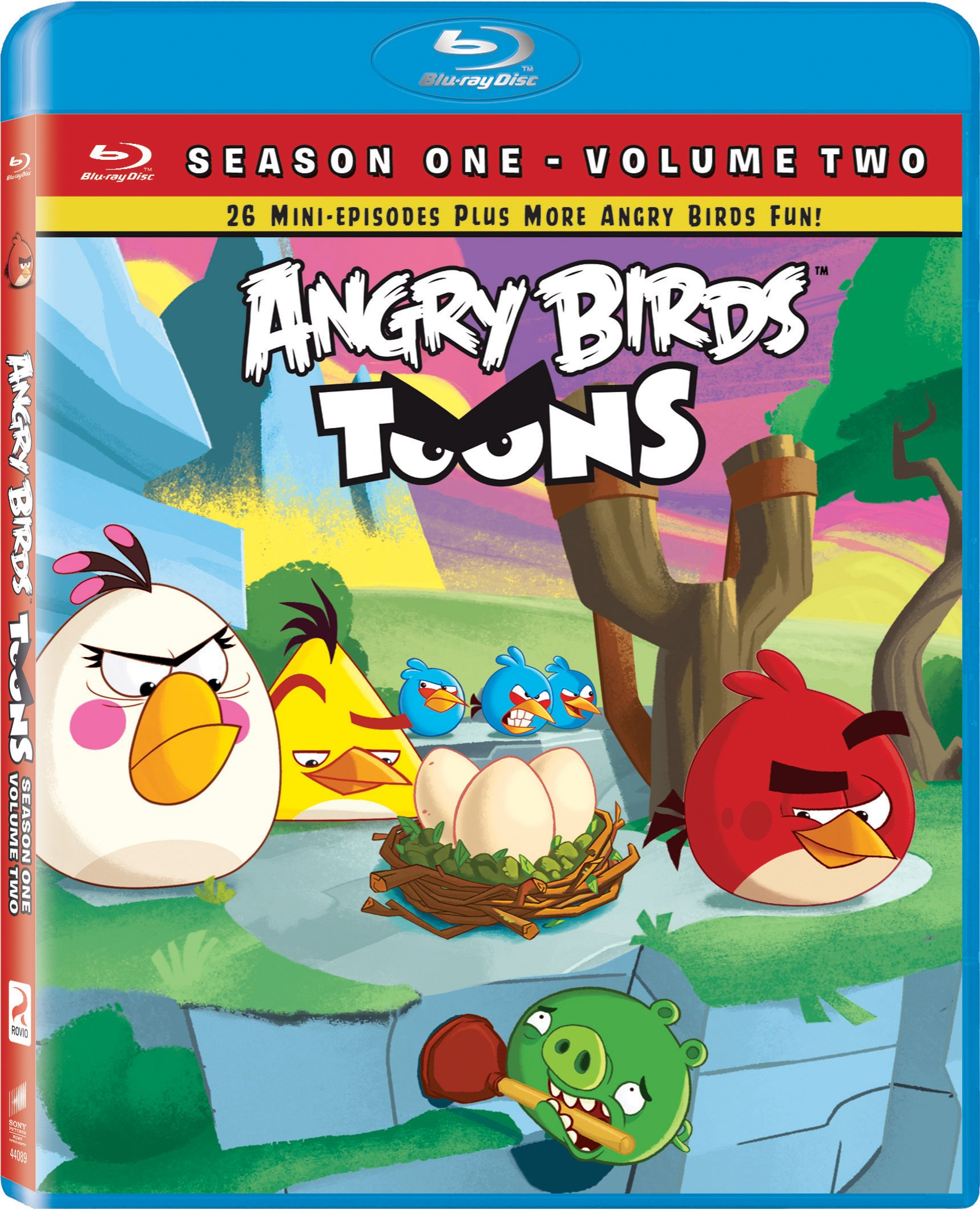 Blu-ray : Angry Birds Toons: Season One Volume 2 (, Widescreen)