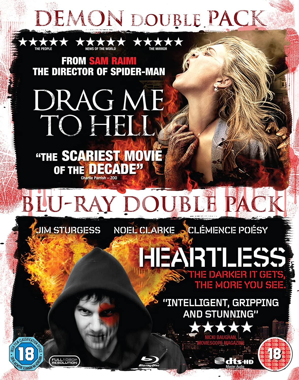 Drag Me to Hell/Heartless [Reino Unido] [Blu-ray]: Amazon.es: Movie, Film [Blu-Ray Disc]: Cine y Series TV