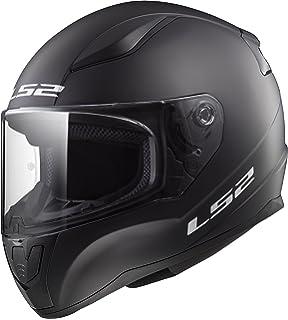 Ls Helmets Rapid Solid Matte Black Uni Adult Full Face Helmet Style