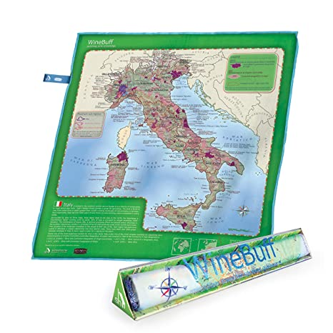 Clear Map Of Italy.Soireehome Winebuff Italy Edition Large Micro Fiber Polishing Towel For Crystal Clear Streak Free Polished Wine Glasses 20 X 20 Inch