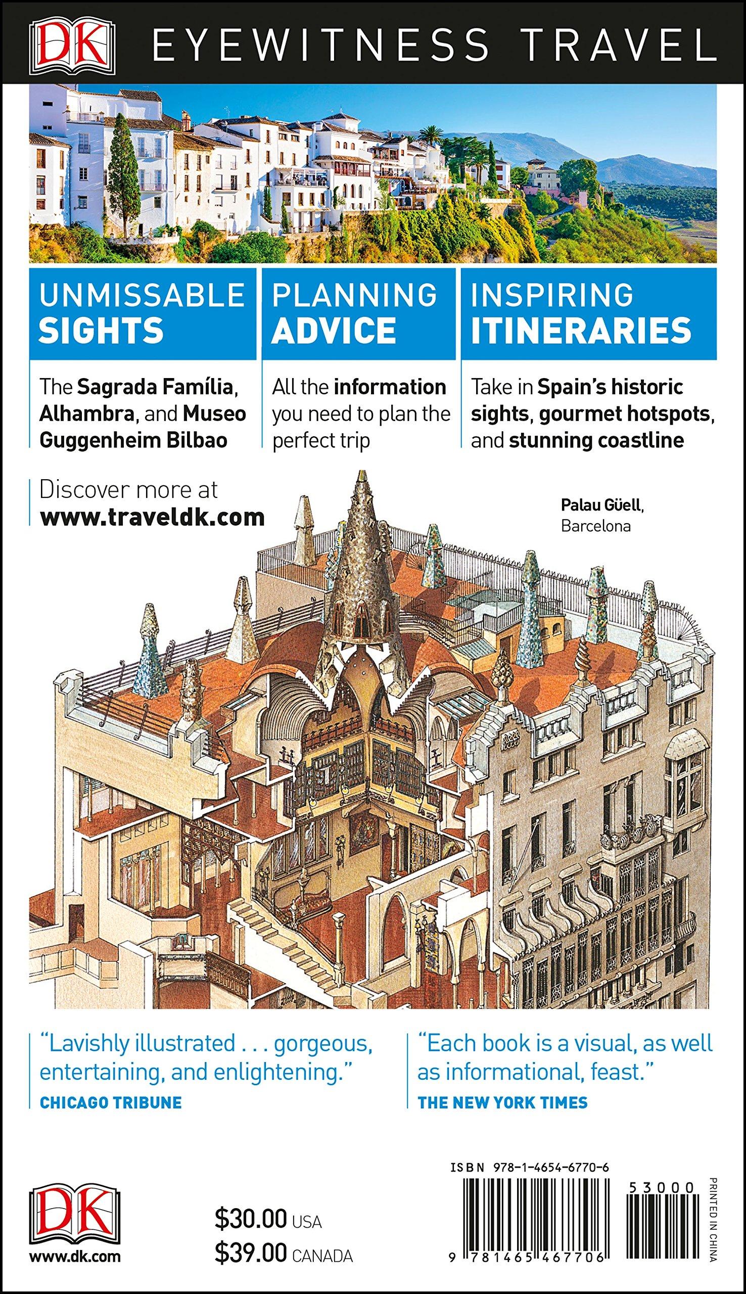 DK Eyewitness Travel Guide Spain: DK Travel: 9781465467706: Amazon.com: Books