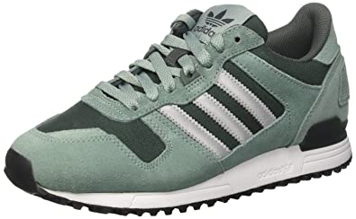 c3c26e3aff0c ... best price adidas mens zx 700 low top sneakers green vapour steel  metallic silver sld utility