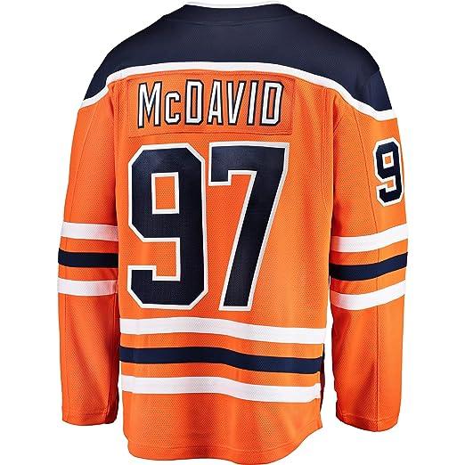 Connor McDavid Edmonton Oilers Orange Youth Home Premier Jersey  (Small Medium 8-12 e55f1da28