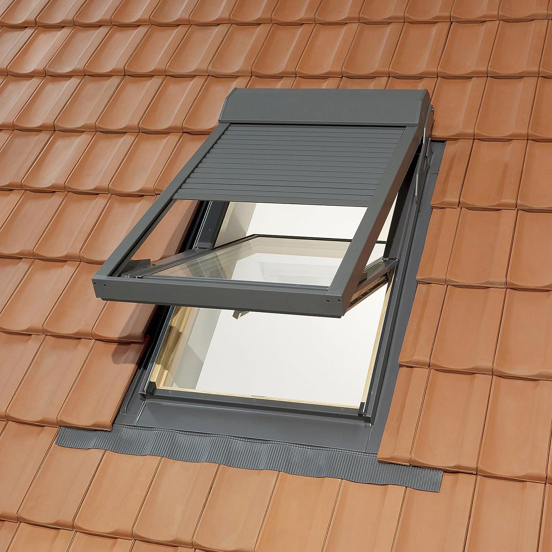 Einzigartig KUNSTSTOFF Dachfenster von SOLSTRO in der Größe 114x118 inkl  LY58
