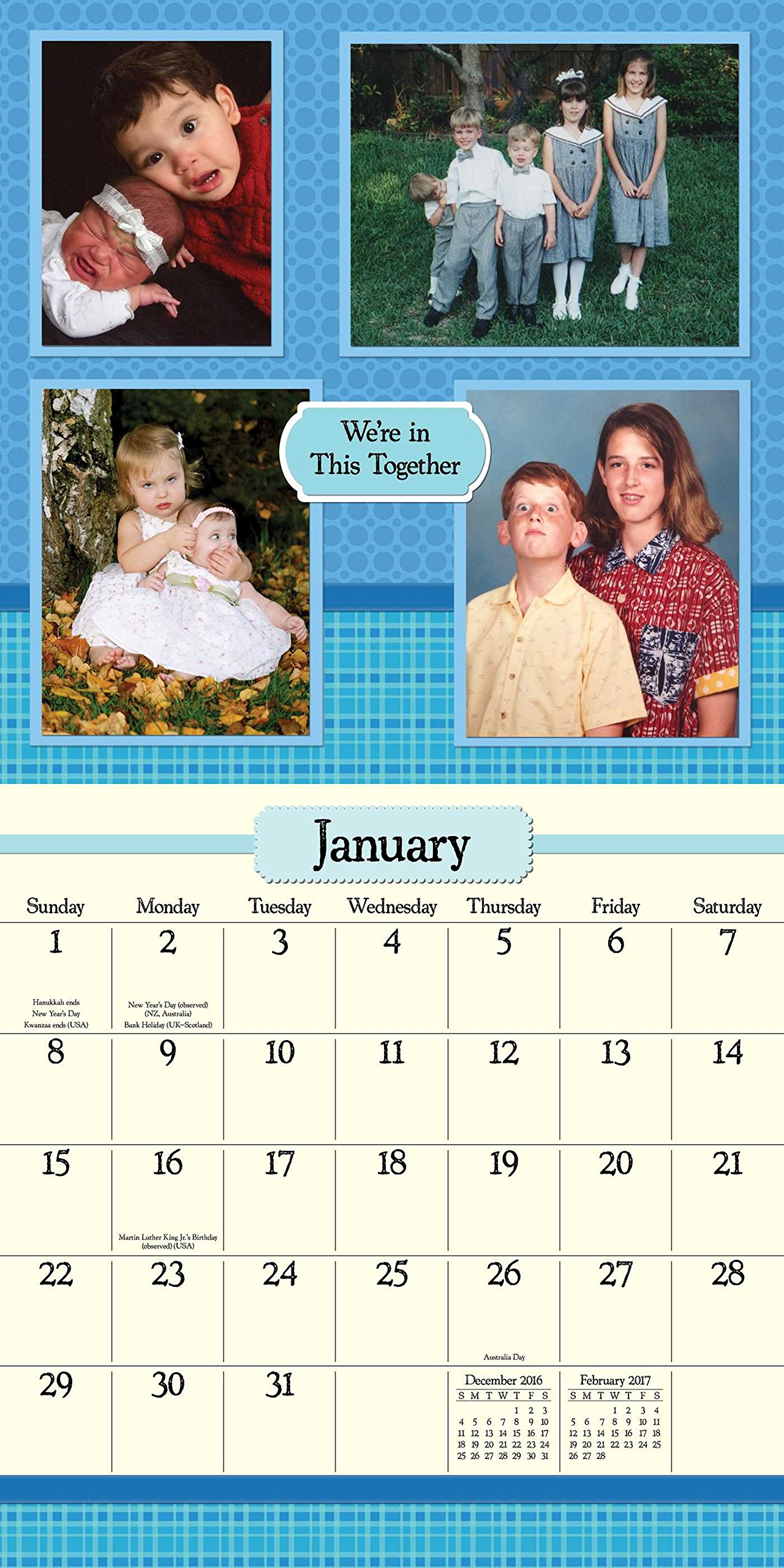 Awkward Family Photos Square Wall Calendar Amazoncouk - 24 hilariously awkward family photo will make cringe 9 makes no sense