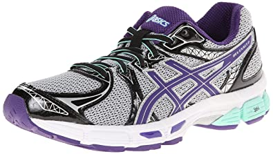 Asics Women's GEL-Exalt 2 Grey/Purple/Beach Glass Running Shoe - 5