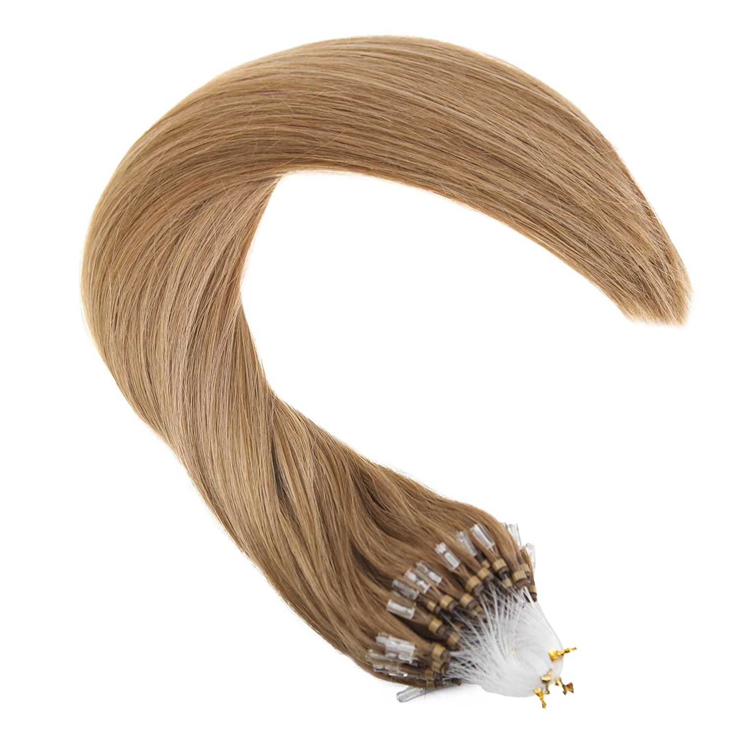 Amazon Ugeat 14inch Micro Loop Hair Extensions Light Ash Brown