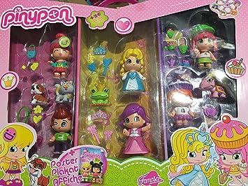 Pinypon Tomy Figura 10 Paquete: Amazon.es: Juguetes y juegos