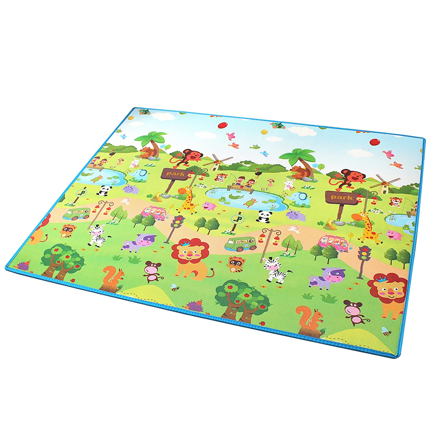 Baby Play Mat Folding Baby Care Xpe Playmat Foam Floor