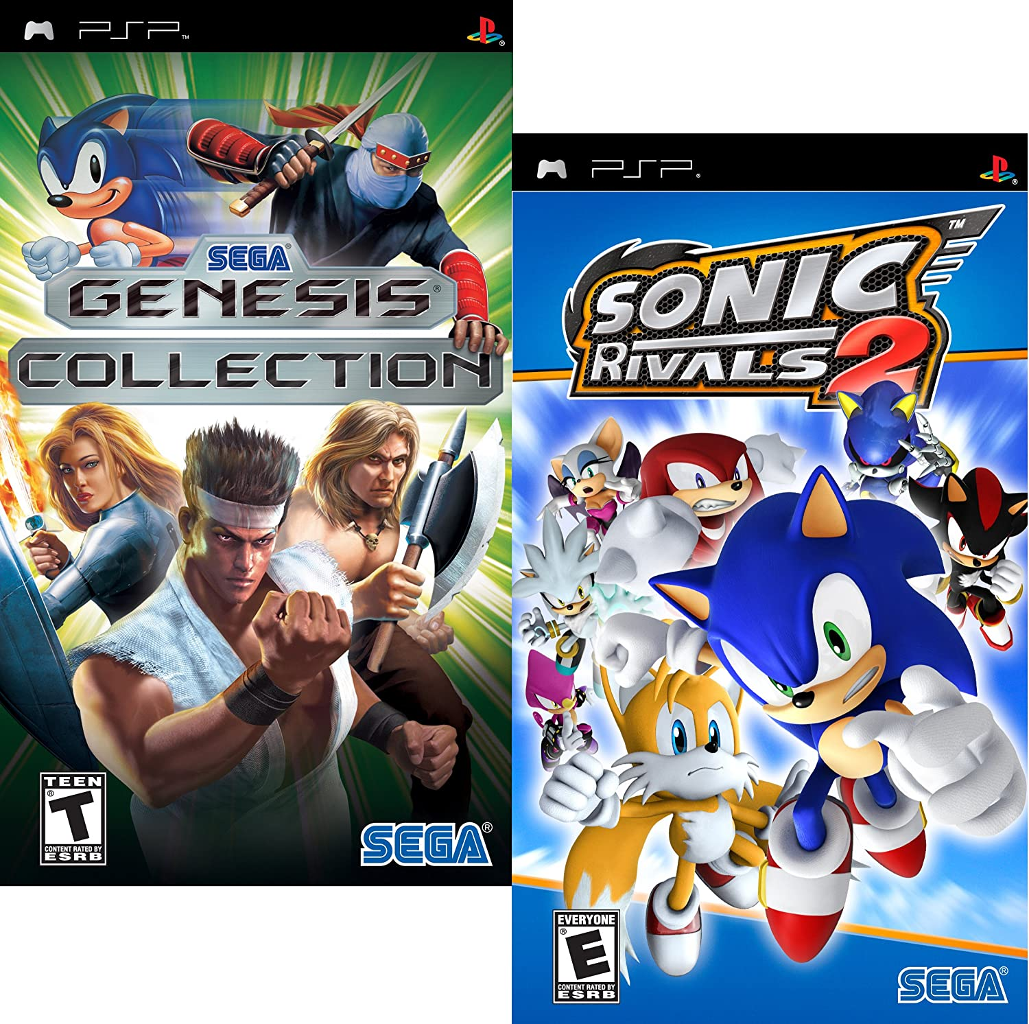 Buy Sega Fun Pack Featuring Sonic Rivals 2 And Sega Genesis