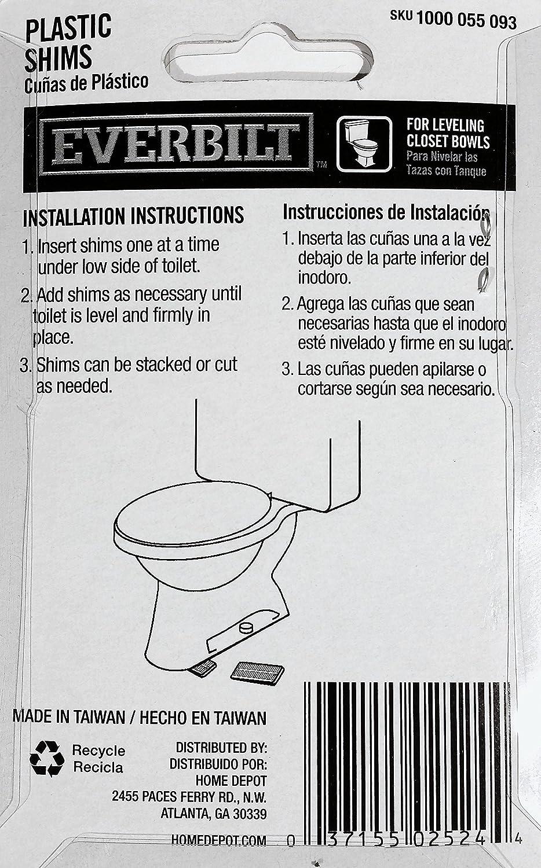 Everbilt Toilet Shims (4-Pack)