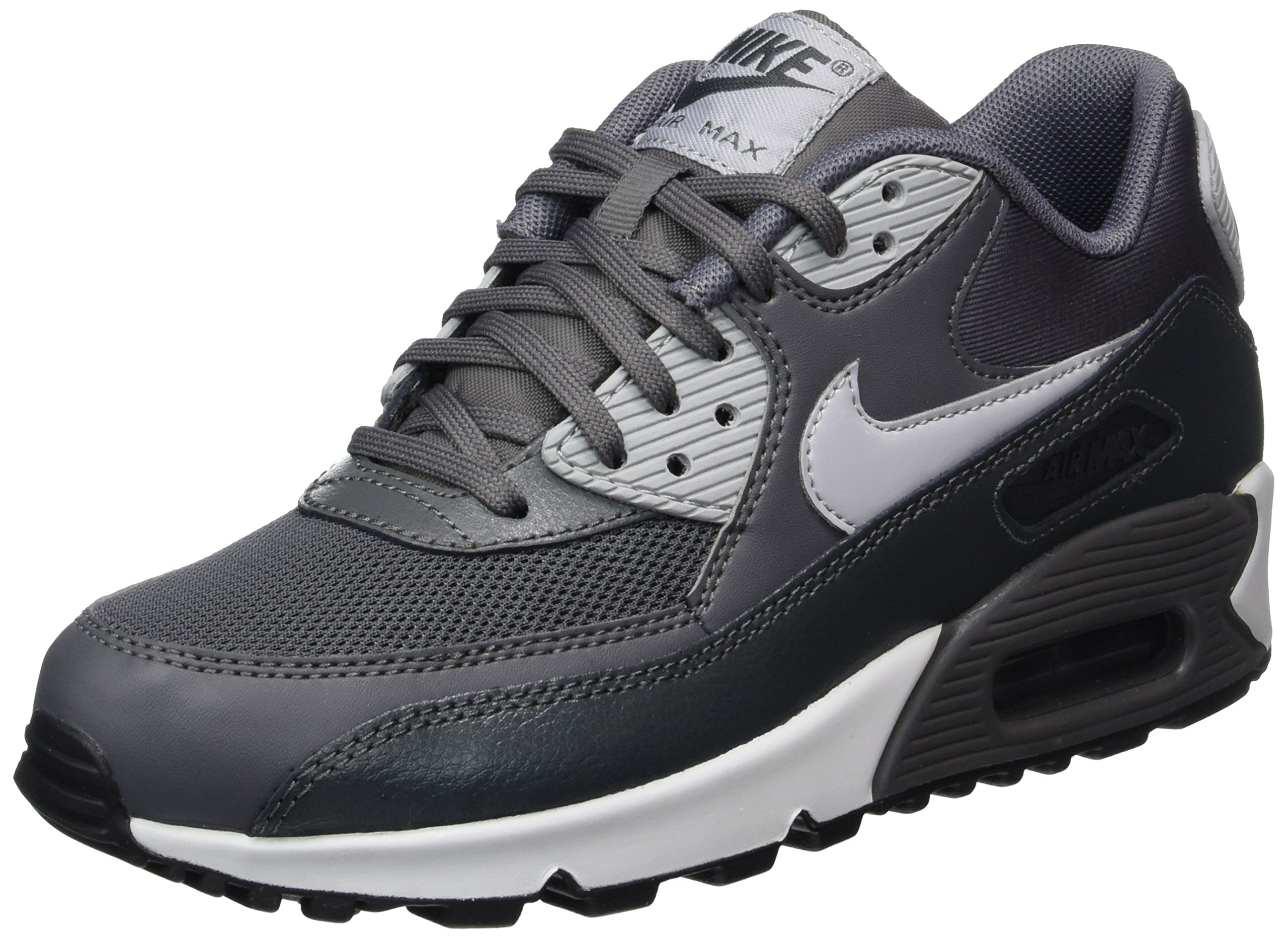 hot sale online 5bb19 4265c Galleon - NIKE AIR Max 90 Essential Womens Running-Shoes 616730 (6 B(M) US,  Dark Grey Wolf Grey-Anthracite)