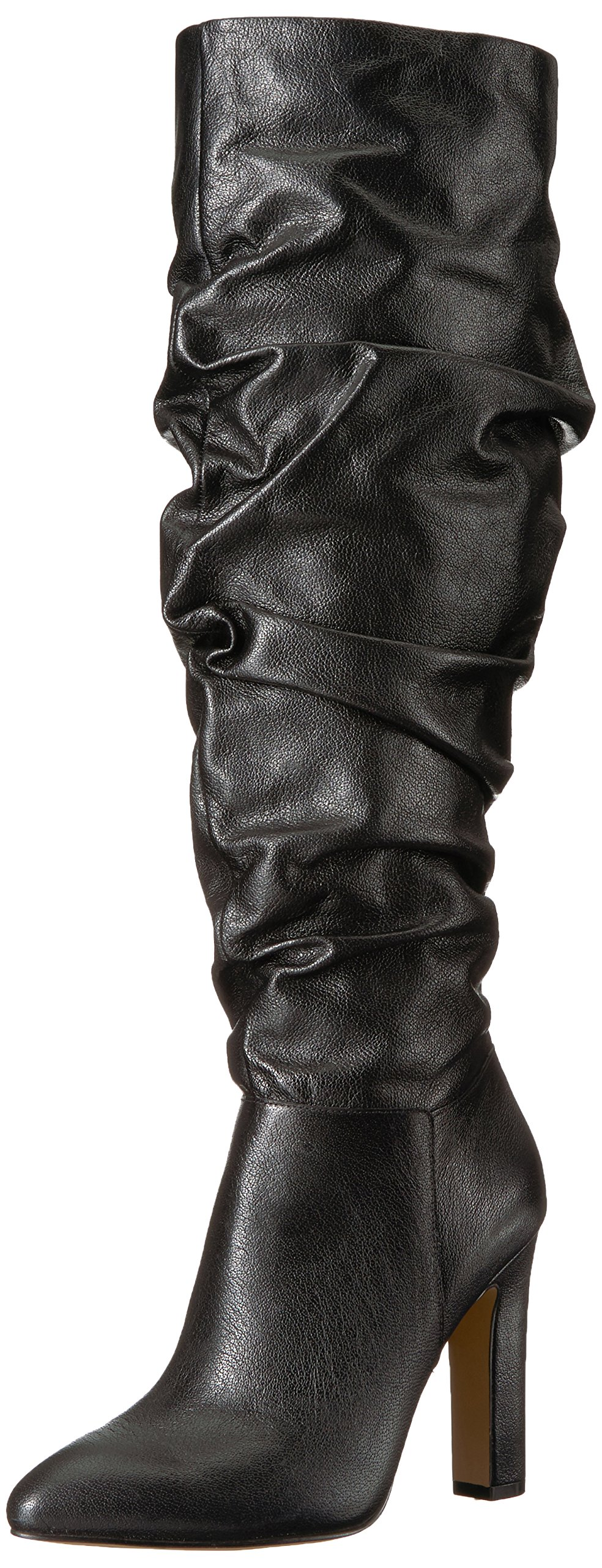 The Fix Women's Kennedi Pointed-Toe to-The-Knee Slouch Boot, Black, 8.5 B US